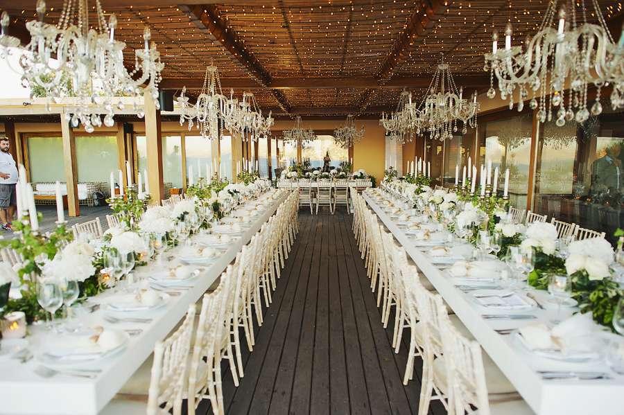 Elegant Fairy Tale White Wedding Luxury White Wedding In